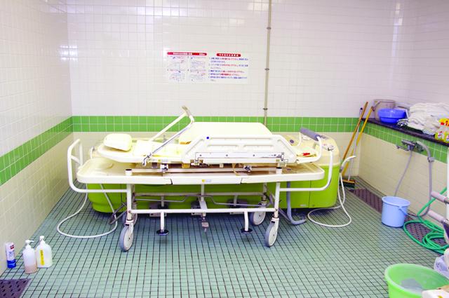特殊浴(寝たまま)